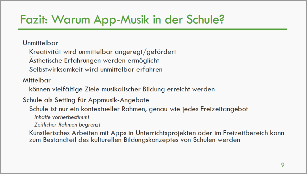 Appmusik_Fazit