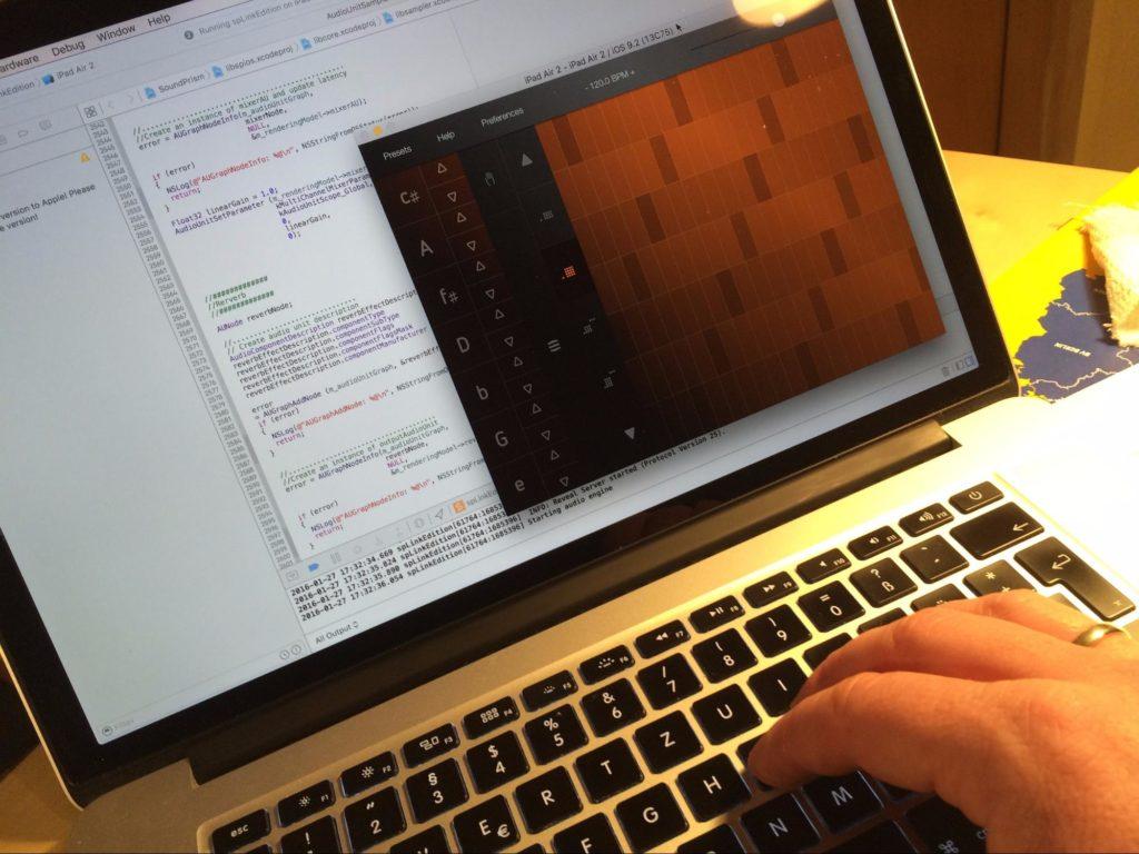 Bei der Entwicklung von SoundPrism
