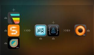 Multi-App Musikproduktion auf dem iPad