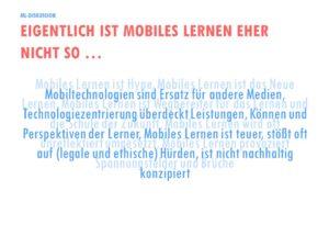 Eigentlich ist Mobiles Lernen eher nicht so … (Judith Seipold 2015)