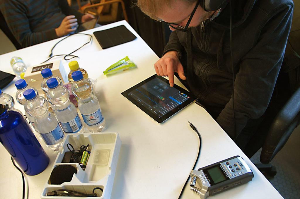 Audioshare - Verwaltung aufgenommener oder importierter Samples
