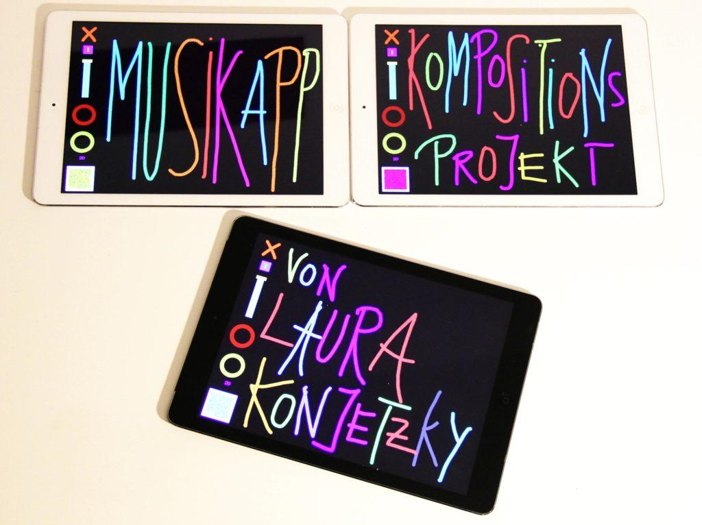 Musikapp - Kompositionsprojekt von Laura Konjetzky